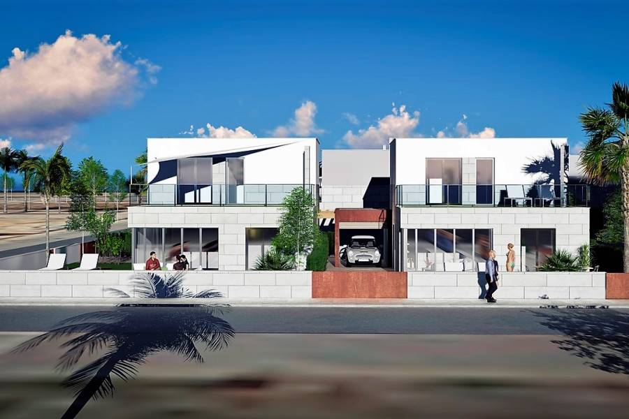 New Build - a VILLA / HOUSE - Los Alcazares - Los Alcazares - Center