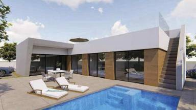 a VILLA / HOUSE - New Build - Rojales - None