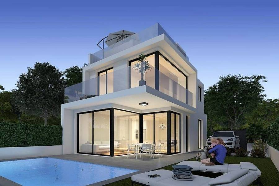 New Build - a VILLA / HOUSE - Orihuela Costa - Villamartin